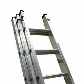 Lyte Industrial EN131-2 Professional 3 Section Extension Ladder