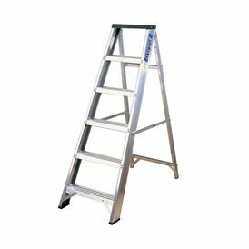 Lyte EN131-2 Professional Swingback Step Ladder With Tool Tray