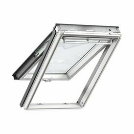 Velux White Painted Top Hung Roof Window 70 Pane - GPL 2070