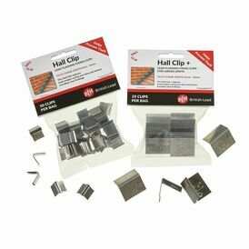 Easy-Trim Lead Fixing ClipsHall ClipsLead FlashingPack of 50