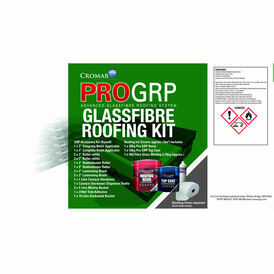 Cromar ProGRP Advanced Glassfibre Roofing Kit - 13m²
