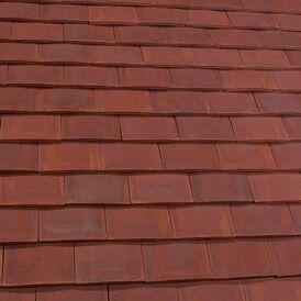 Marley Acme Double Camber Clay Plain Roof Tile - Pack of 12