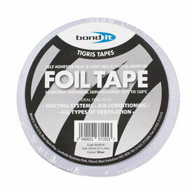 Bond It Aluminium Foil Tape - 100mm x 45M