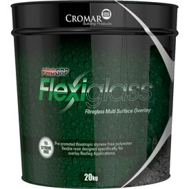 Cromar Flexiglass Topcoat Resin - 20kg