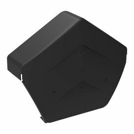 Angled Polypropylene Ridge End Caps - Pack of 20