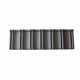 Smooth Black Budget Lightweight Roof Tile