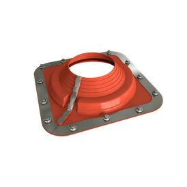 Dektite Combo Roof Pipe Flashing - Red Silicone (175 - 330mm)