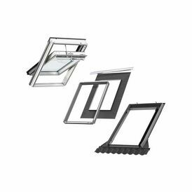 Velux GGL SK06 S20W03 INTEGRA Window & Flashing Bundle for Tiles - 114cm x 118cm
