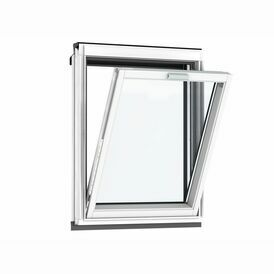 Velux Vertical White Painted Fixed Roof Window 66 Pane - VFE 2066