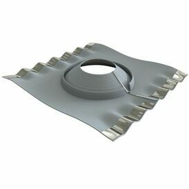 Dektite Retrofit Soaker - Grey EPDM (235 - 425mm)