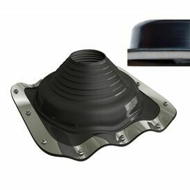 Dektite EZi-Seal Roof Pipe Flashing - Black EPDM (100 - 200mm)