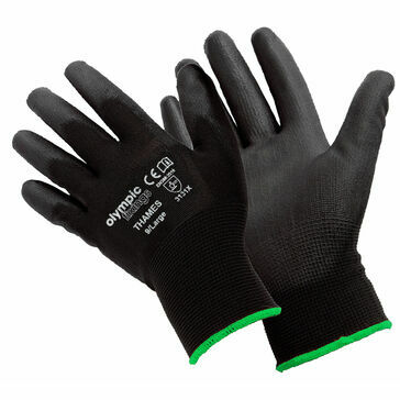 Olympic Fixings Thames Black Coated Workglove