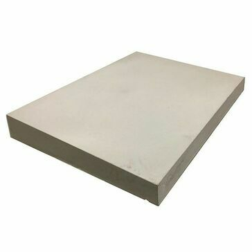 Concrete Single Weathered Coping Stone - Light Grey (450mm x 600mm)