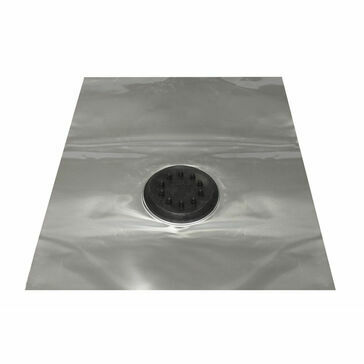 SolarDek Seldek Aluminium Multicable Flashing - Black EPDM (500 x 600mm)