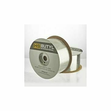 Foil Backed Butyl Flashing Tape 314 1.5mm x 100mm x 20m Aluminium