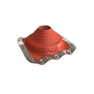 Dektite Premium Roof Pipe Flashing - Red Silicone (75 - 175mm)
