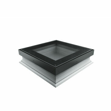 FAKRO DXW-D W6 Fixed Walk-On Flat Roof Window - 60cm x 60cm