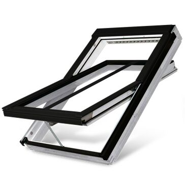 FTU-V/C P5 White Polyurethane Double Glazed Conservation Roof Window