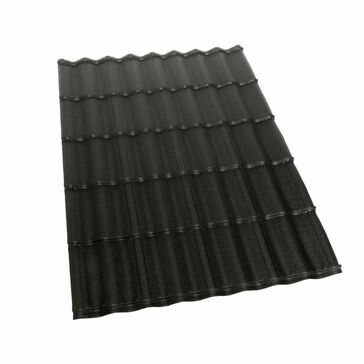 Britmet Ecopan Plus Lightweight Metal Roofing Sheet - Charcoal (1530 x 1080 x 0.90mm)