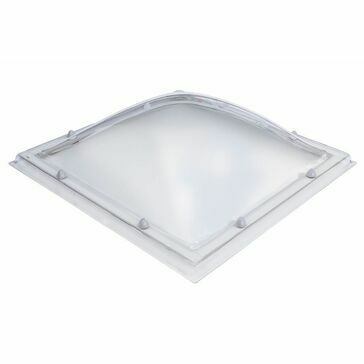 Em Dome S12 Rooflight - 1400 x 1400mm Clear Double Skinned