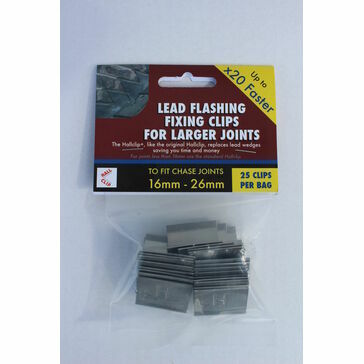 Hallclip+ Lead Fixing Clips for Larger Joints (Bag of 25)