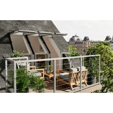 VELUX EEX M35 0000 Roof Terrace Support Rail Foundation