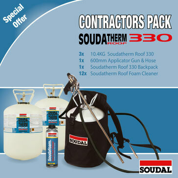 Soudatherm Roof 330 Contractor Pack - 360m2 (330CP)
