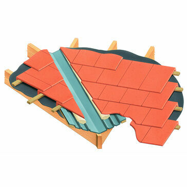 Cavity Trays VG-T Valley Gutter For Tiles - 3 Metre Length
