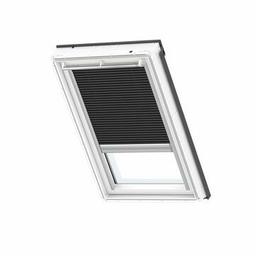VELUX FMC 1047S Electric Pleated Blackout Energy Blind - Black