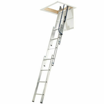 Werner 3 Section Easy Stow Loft Ladder