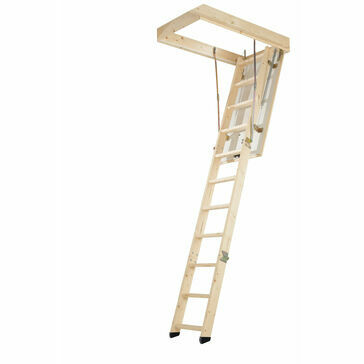 Werner Timber Complete Loft Access Kit Loft Ladder