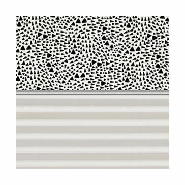 VELUX Duo Blackout Blind Graphic Pattern or White - DFD 4573S