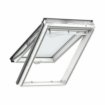 Velux White Polyurethane Top Hung Roof Window 60 Pane - GPU 60