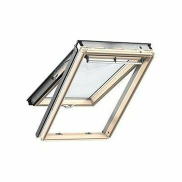 Velux Lacquered Pine Top Hung Roof Window 70 Pane - GPL 3070