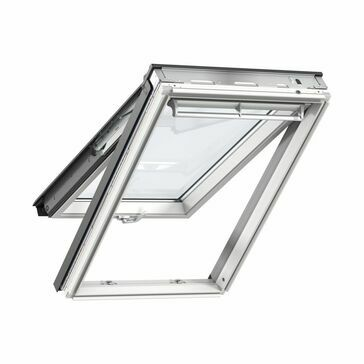 Velux White Painted Top Hung Roof Window 66 Pane - GPL 2066