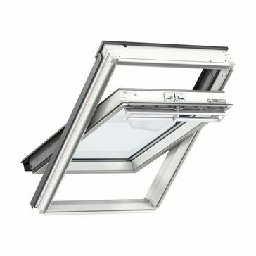 Velux White Painted Centre Pivot 60 Pane Roof Window - GGL 2060