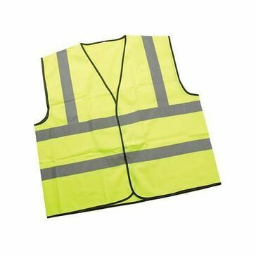 CMS FLO High Visibility Waist Coat (XL)