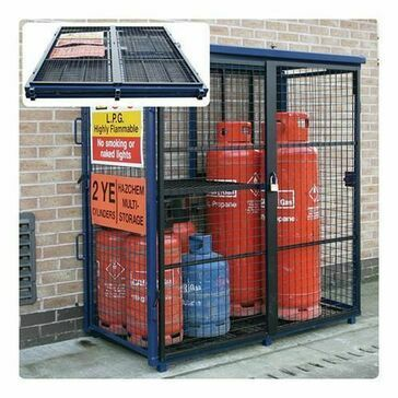 CMS Folding Gas Cage