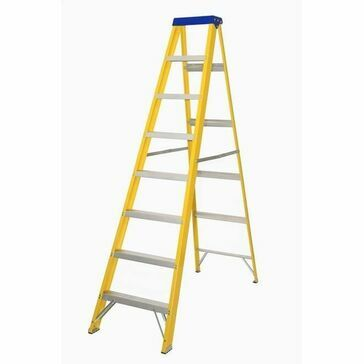 Lyte EN131-2 Professional Glassfibre Swingback Step Ladder