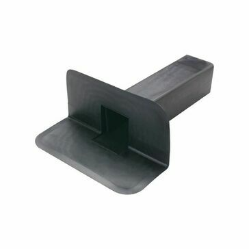 CMS Square Through Wall Roof Drain EPDM