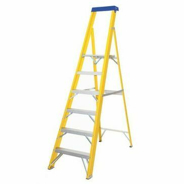 Lyte EN131 - 2 Professional Glassfibre Platform Step Ladder