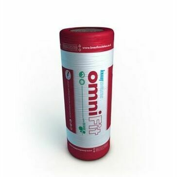 Knauf Omnifit Multi Use Insulation Roll - 200mm x 1.2m (163.2 m2/pallet)