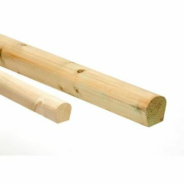 BLM Wood Roll 2.4M x 50mm, Minimum 20 - Bundle of 20