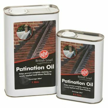 BLM Patination Oil 2.5L Can, Box of 4