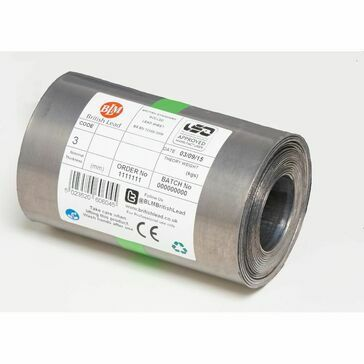 BLM Code 3 Roofing Lead Flashing Roll - 6m