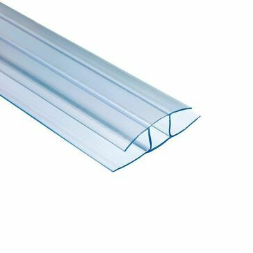 Ventura - Polywall Polycarbonate H Profile 3000mm x 16mm