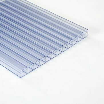 Ventura - Polywall Polycarbonate 3-Wall Sheet Clear 2000mm x 1000mm x 16mm