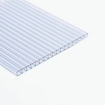 Ventura - Polywall Polycarbonate 2-Wall Sheet Clear 2000mm x 1000mm x 10mm