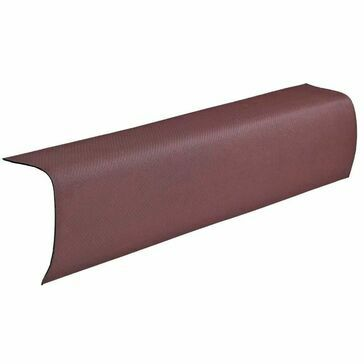 Ventura - Red Corrugated Bitumen Edge Piece 1000mm x 330mm