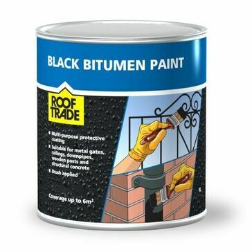 RoofTrade Black Bitumen Paint